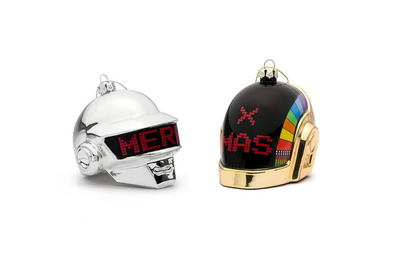 Daft Punk Holiday 2017 Merchandise Capsule Maxfield Los Angeles Christmas Centralia Knitting Mills