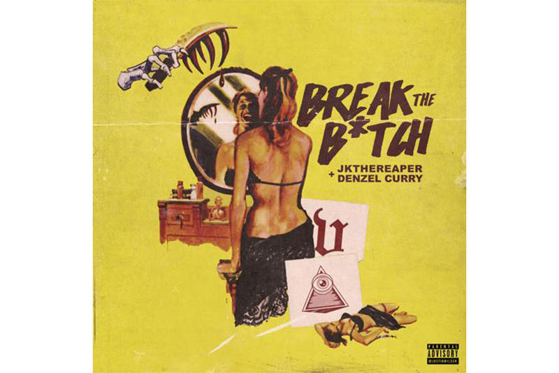 Denzel Curry JK The Reaper Break the Bitch Single Stream 2017 November 13 Release Date Info