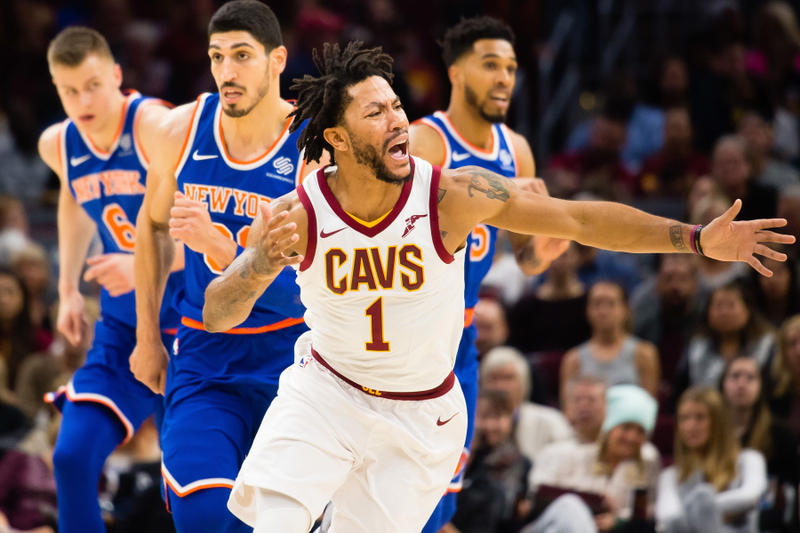 Derrick Rose Cleveland Cavaliers Leave