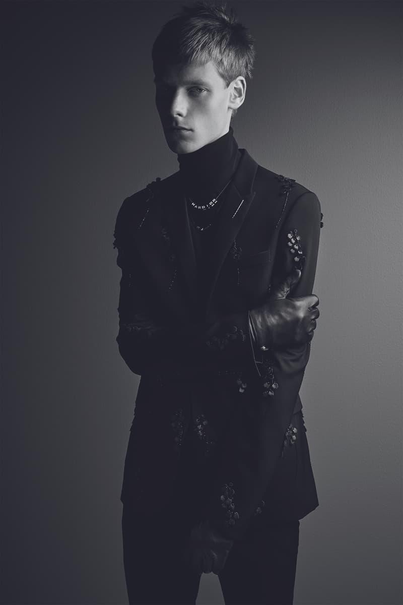 Dior Homme Black Carpet 2017 Fall Winter November Release Date Info Kris Van Assche Patrick Demarchelier