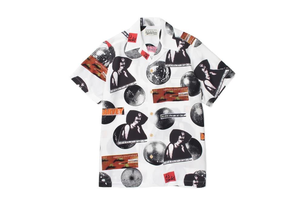 DJ Harvey WACKO MARIA Fall Winter 2017 Shirt Collaboration November 18 Release Date Info PARADISE TOKYO Japan CONTACT Tour
