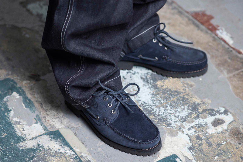 DMX Engineered Garments Timberland 3 Eye Lug Shoes Collaboration Campaign 2017 November 11 Release Date Info Footwear