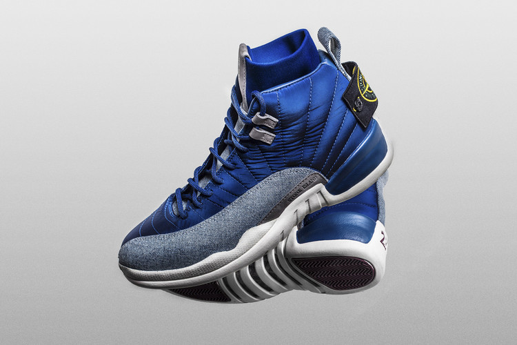 f114d9fe40df1 Drake Receives Custom Stone Island x Air Jordan 12s for His Birthday