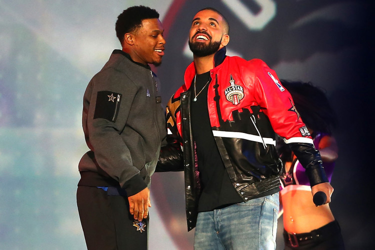 pretty nice 1b04f caf6f Watch Drake Interview Kyle Lowry After Raptors Win