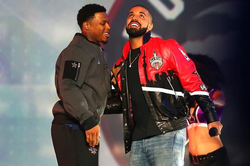 Drake Kyle Lowry Toronto Raptors