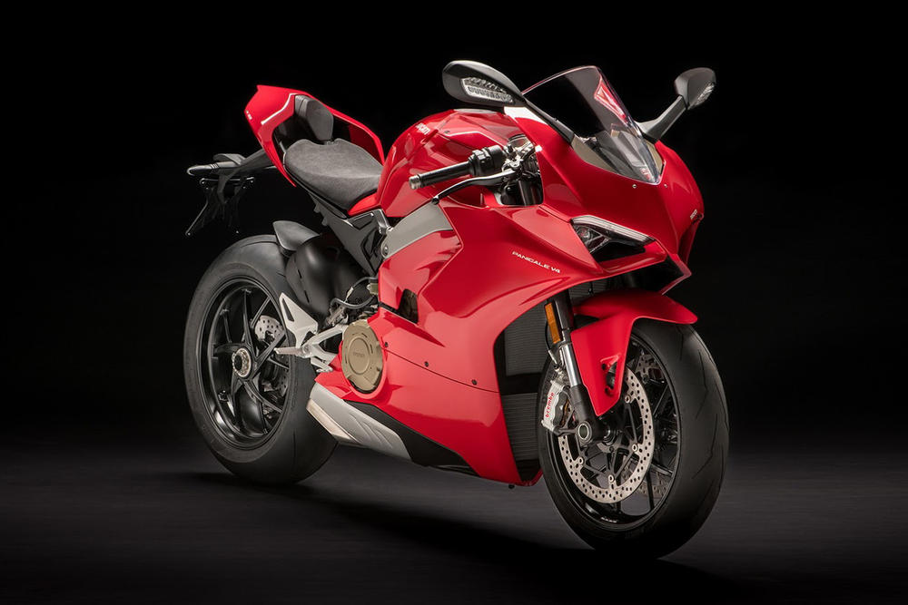Ducati Panigale V4 Supersport Motorcycle S Speciale Superbike Bikes Red