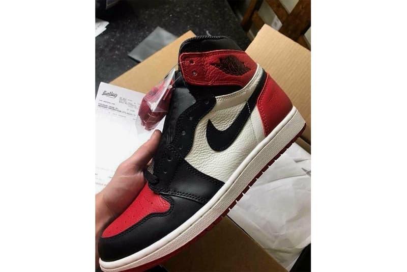 best loved 6d07f e8e94 Air Jordan 1 Bred Toe