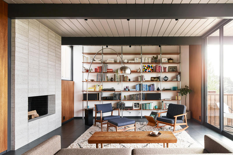 Eichler mid century home Michael Hennessey Firm Architecture