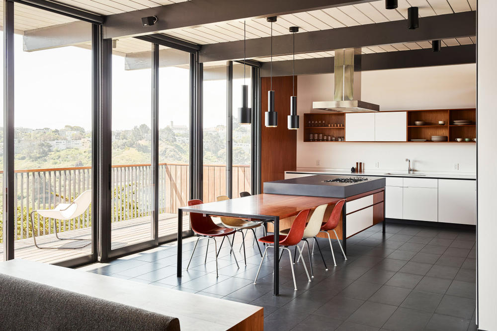 Eichler mid century home Michael Hennessey Firm Architecture