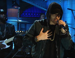 "Eminem Performs ""Walk on Water"" on 'SNL'"