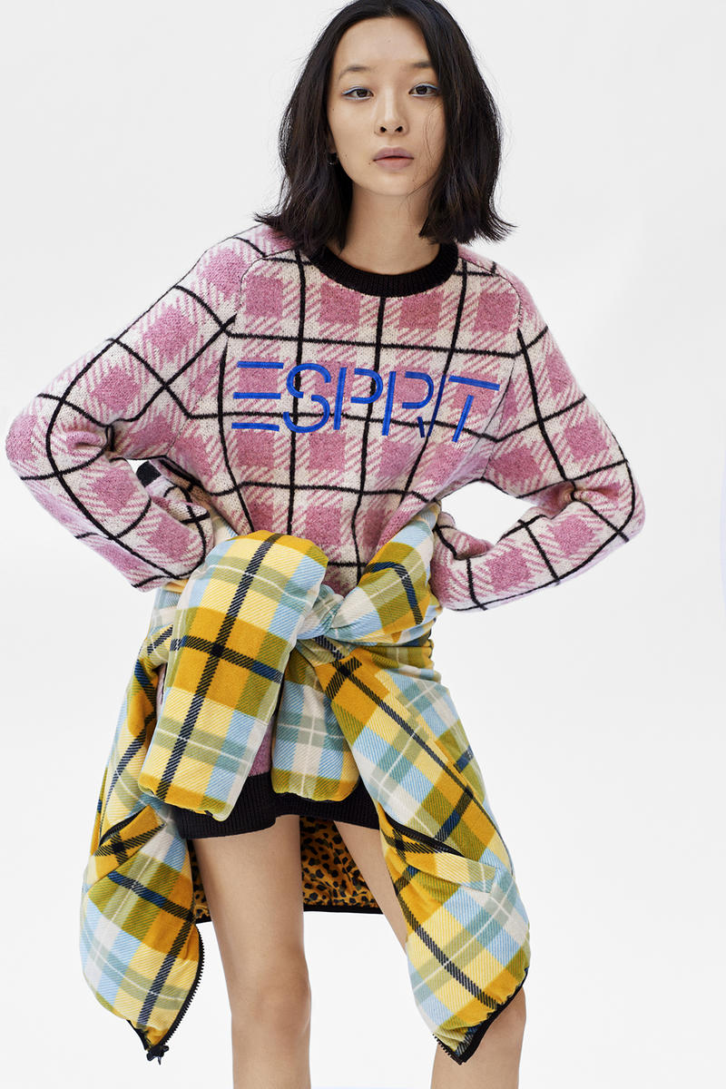 ESPRIT Opening Ceremony 2017 Winter Collection November 17 Release Date Info Plaid Leopard Print Puffer Sweater Cardigan Shirt