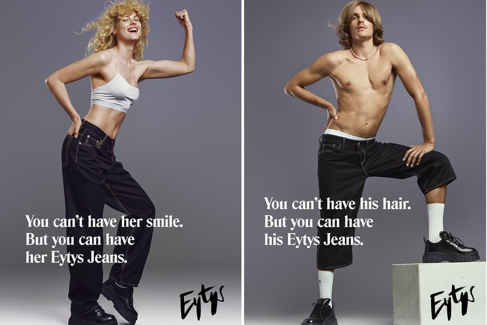 Eytys Buffalo Zine Denim Collection MTV Benz Boyle Cypress Jeans Lookbooks Ready-To-Wear Unisex