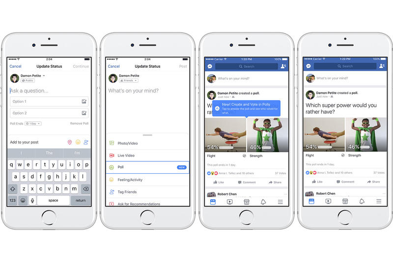 Facebook GIF Supported support Polls Feature Twitter TBH question survey response character limit 25 no