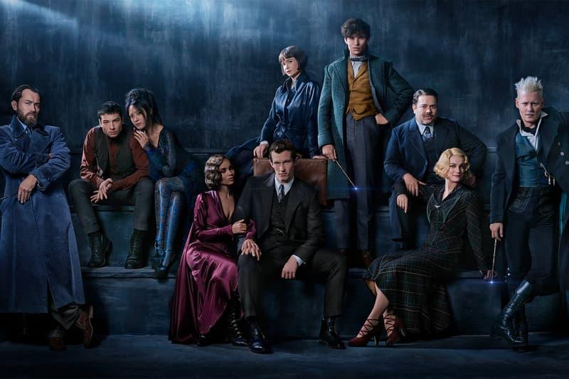 Fantastic Beasts The Crimes of Grindelwald Sequel Dumbledore Jude Law Johnny Depp Cast Photo