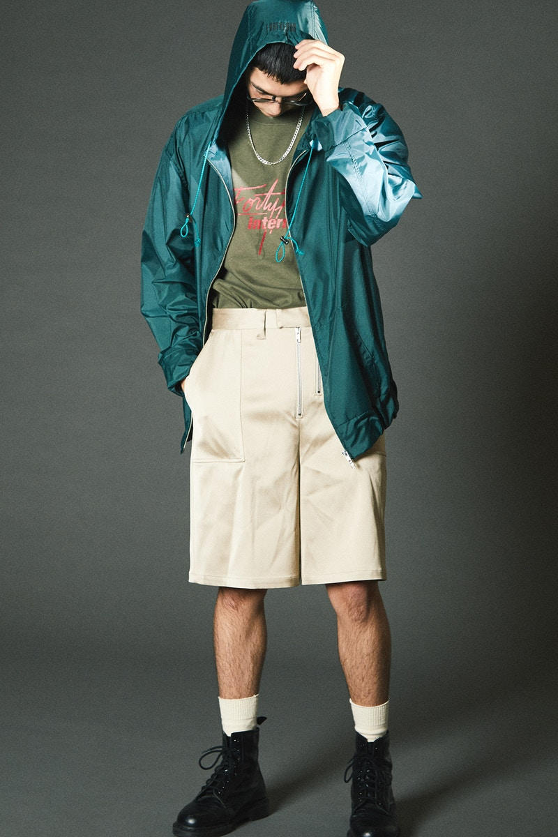 FORTYFOUR 2018 Spring Summer Collection Lookbook Japan Sportswear