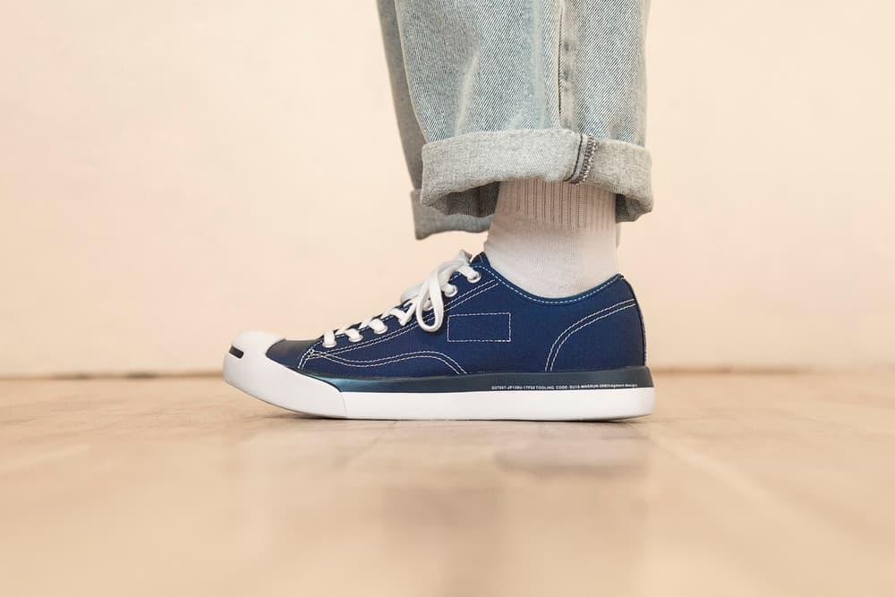 fragment design Converse Jack Purcell Modern White Black Navy 2017 November 11 Release Date Info Sneakers Shoes Footwear HBX HYPEBEAST Store Japan Hiroshi Fujiwara Phylon
