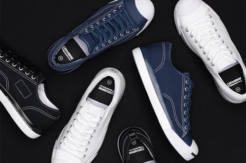 fragment design Converse Jack Purcell Collaboration White Black Navy Blue Hiroshi Fujiwara Instagram 2017 November 11 Release Date Info Sneakers Shoes Footwear