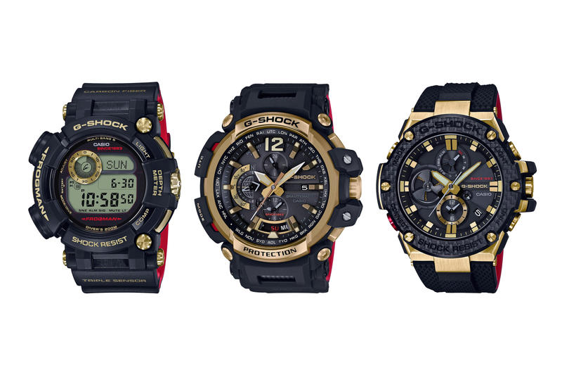 G Shock Gold Tornado Collection 35th Anniversary