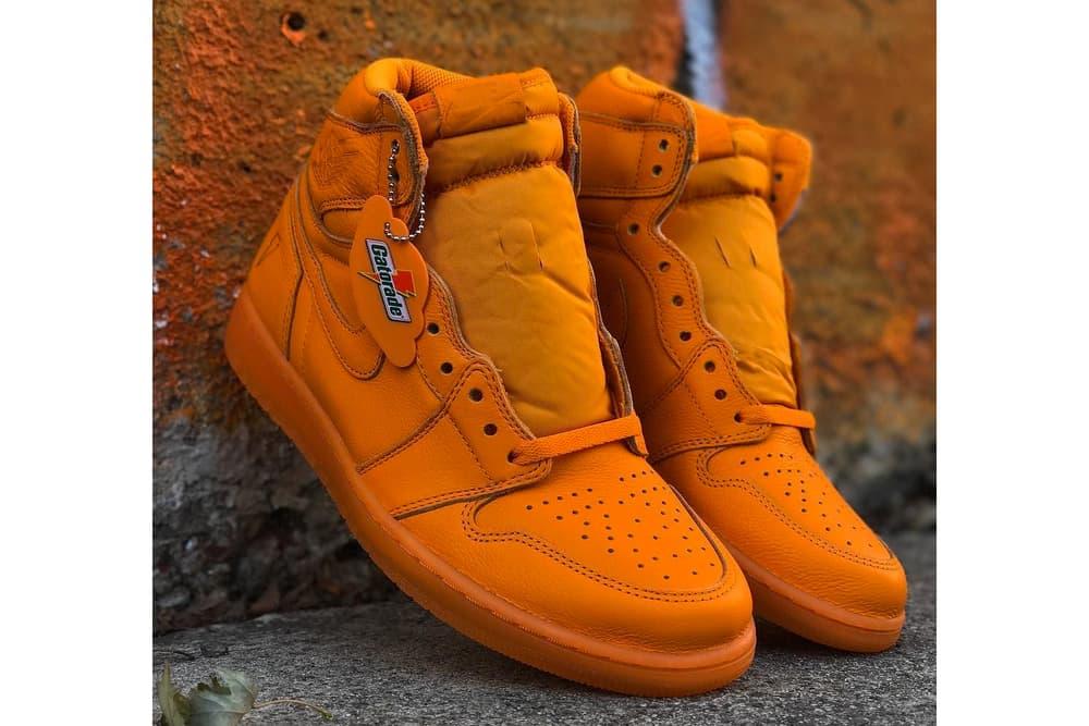 Jordan Brand Gatorade Air Jordan 1 Retro High Orange Peel
