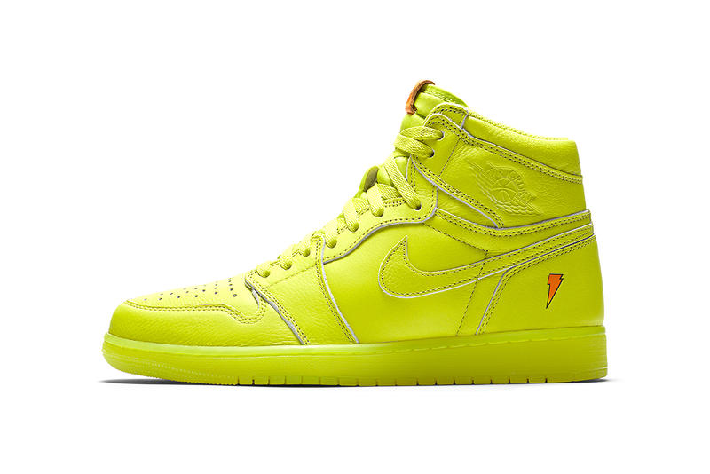 8a9eee955e9 Gatorade Air Jordan 1 Retro High OG G8RD Cyber Lemon Lime 2017 December 26  Release Date