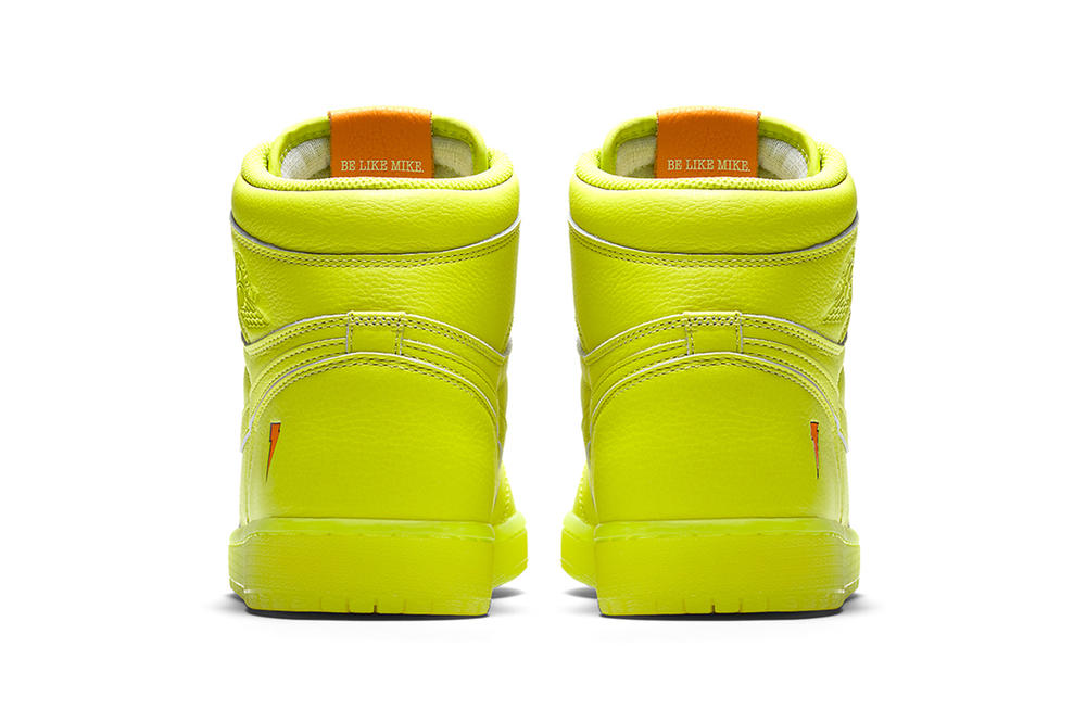 Gatorade Air Jordan 1 Retro High OG G8RD Cyber Lemon Lime 2017 December 26 Release Date Info Sneakers Shoes Footwear