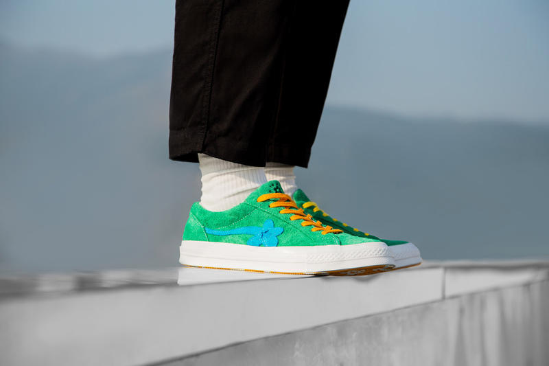 Golf le Fleur Converse One Star On Feet Tyler The Creator 2017 November 2 HBX Release HYPEBEAST Store