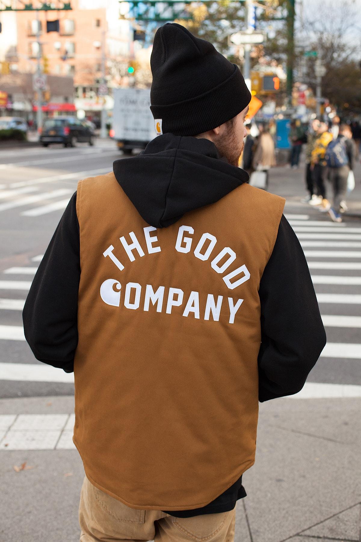 Carhartt WIP x The Good Company