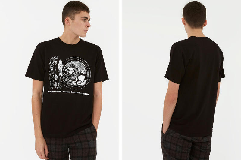 Goodhood Brain Dead Collaboration T-Shirt NEIGHBORHOOD Dr Martens