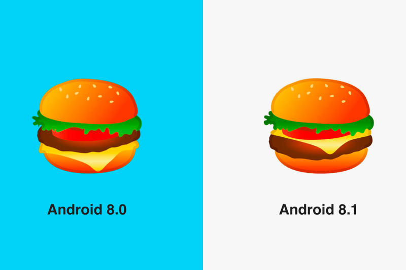 Google Fix Burger Emoji Latest Android Update