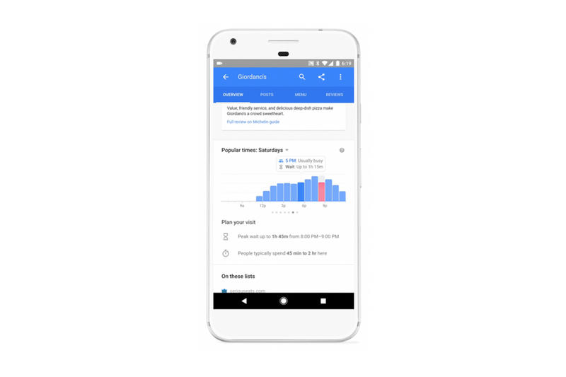 Google Restaurant Wait Time Queue Yelp Food Lines Search Maps