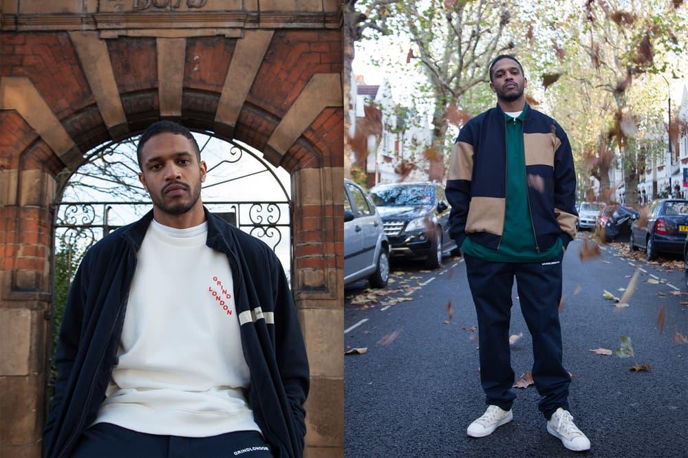 Grind London 2017 Fall Winter FALL FORWARD Editorial Sweater Hoodie T-shirt logo print branding