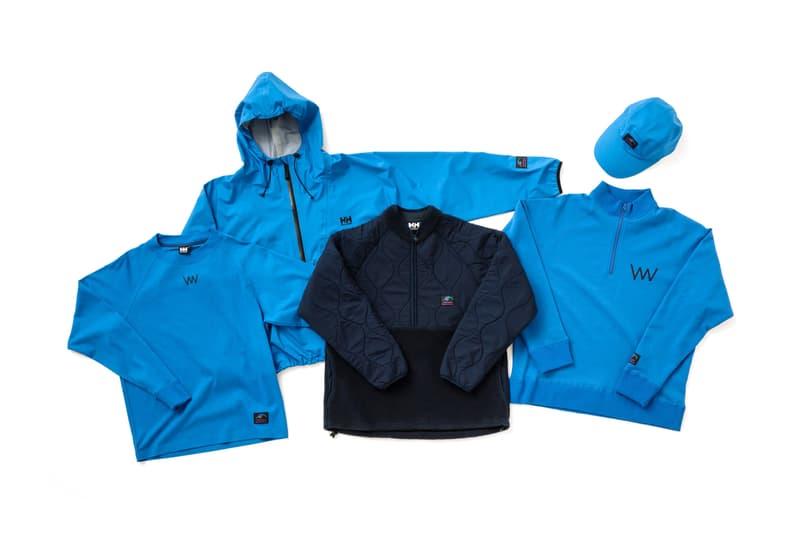 Helly Hansen Yogee New Waves Collaboration 2017 December 13 Release Date Info Blue Jacket Pullover Sweatshirt Crewneck Cap Hat