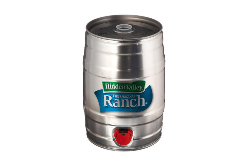 Hidden Valley Ranch Dressing Mini Keg Falvour Gallery Pre Order 2017 December 11 Release Date Info