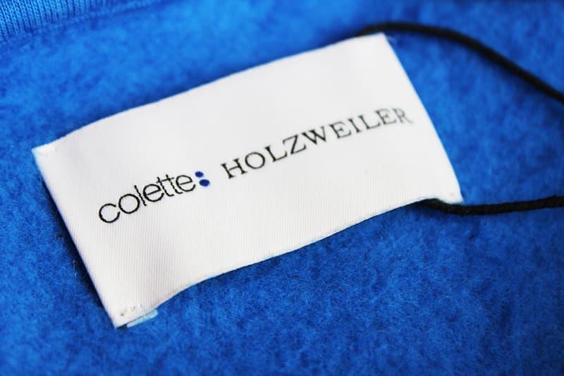colette #coletteforever Holzweiler Hangon Hoodie Blue