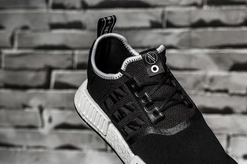 INVINCIBLE NEIGHBORHOOD adidas NMD R1 Closer Look 2017 November 24 December 29 Release Date Drop Info Sneakers Shoes Footwear Japan Taiwan Sukajan