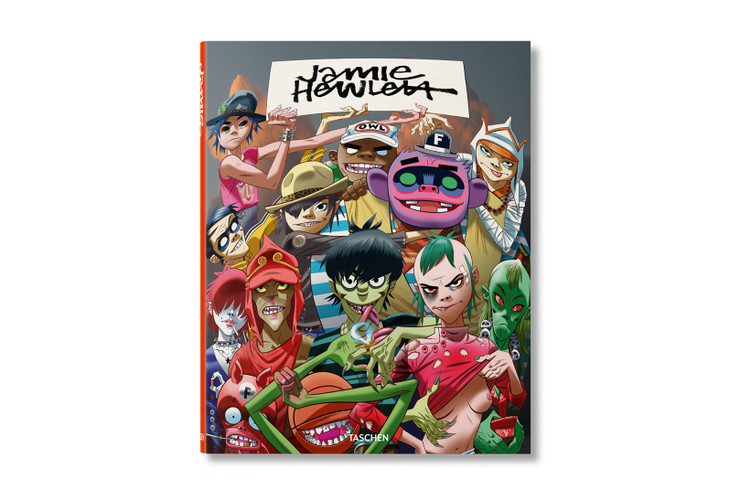 b5187cb9e69c Gorillaz Illustrator Jamie Hewlett Debuts First Major Monograph
