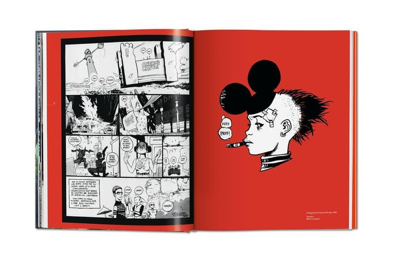 Jamie Hewlett TASCHEN Monograph Gorillaz Art Book 25 Years Inside the Mind of tank girl comic book