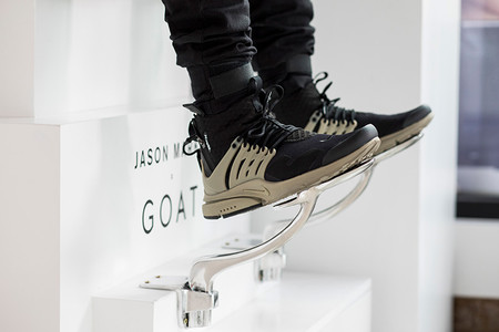 GOAT's Pop-Up Gallery Is Set to Kick off With a Jason Markk Residency