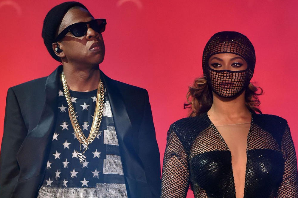 Jay z Beyonce joint album Hova Mr mrs carter