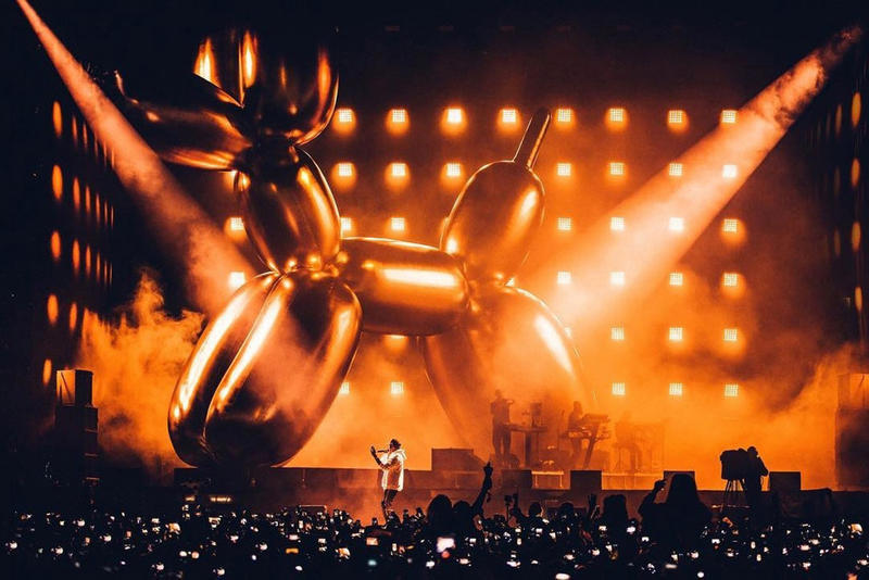 Jeff Koons Louis Vuitton Collaboration JAY-Z V Festival 4:44 Tour