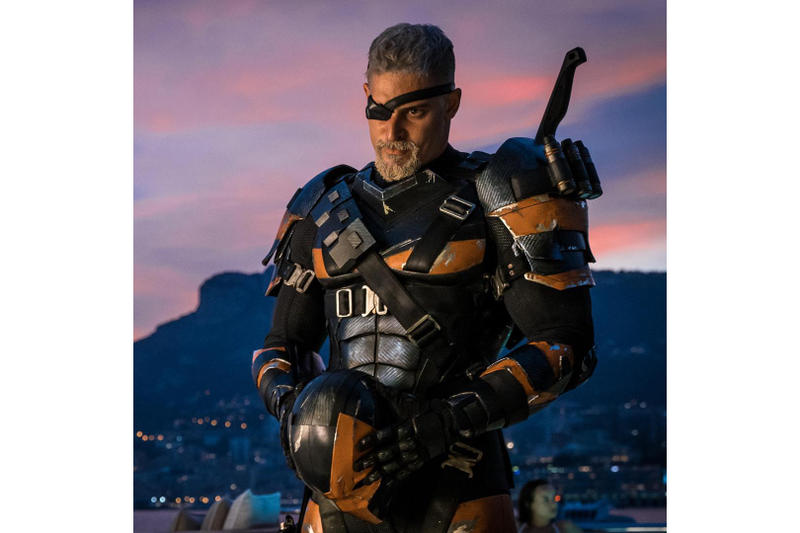 Joe Manganiello Deathstroke DC Extended Universe DCEU Film Movie Justice League Batman Instagram Post 2017 November 25