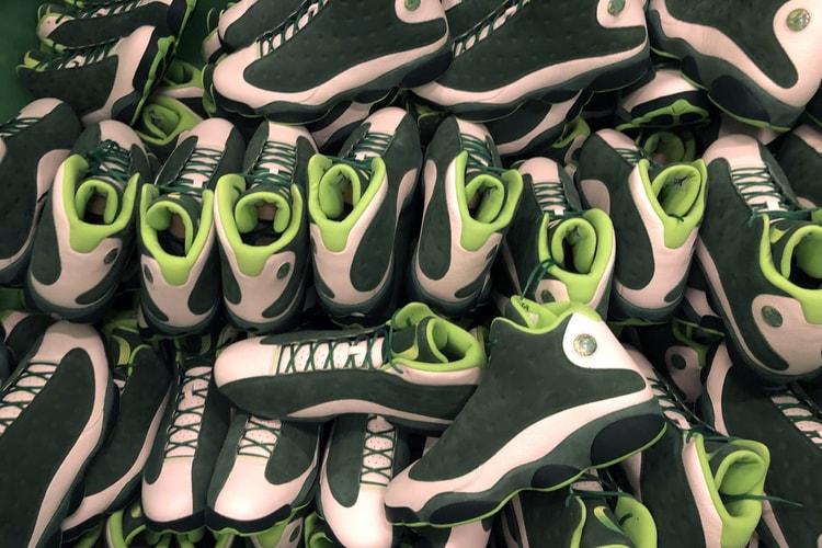 7704401e426c1 This Air Jordan 13 PE Colorway Is Dedicated to the Oregon Ducks