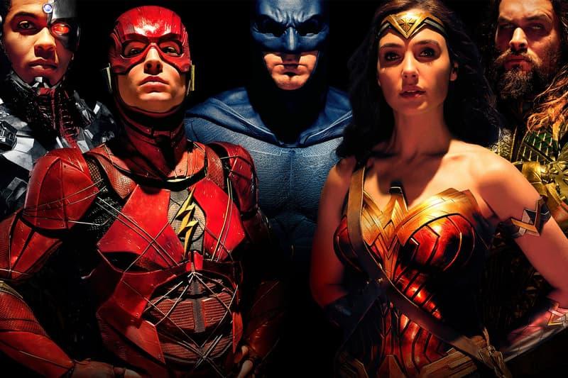 Justice League Wonder Women Superman DC Batman Cyborg Aquaman Movie Theater Box Office