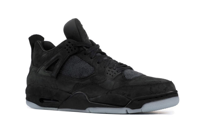 KAWS Air Jordan 4 Release Cyber Monday Drop Date Brand Black Suede 2017 November 27 Nike