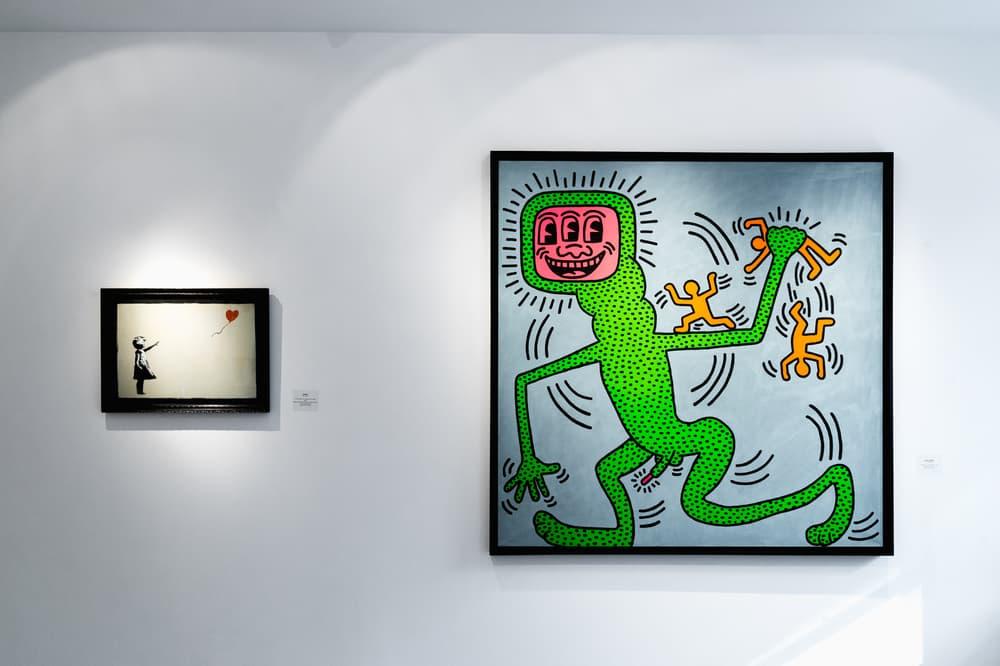 Keith Haring Banksy Ryan Ross Todd Kramer Ross+Kramer Gallery New York City