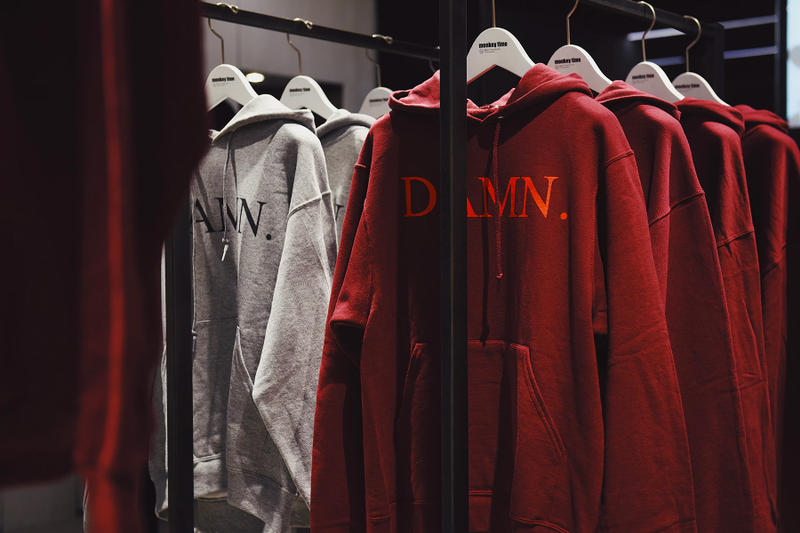 Kendrick Lamar DAMN. Pop-Up tour Tokyo Japan monkey time