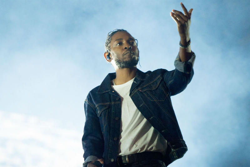 Kendrick Lamar U2 New Single Stream Collaborative 2017 Download Stream Album Leak Get Out Of Your Own Way Songs Of Experience performance denim jean jacket stage concert mic