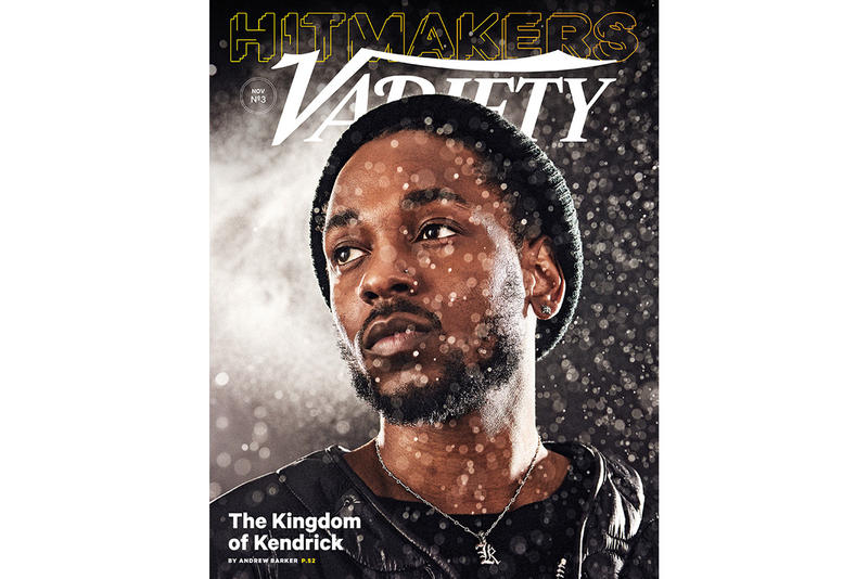 Kendrick Lamar Variety Hitmakers Issue Cover