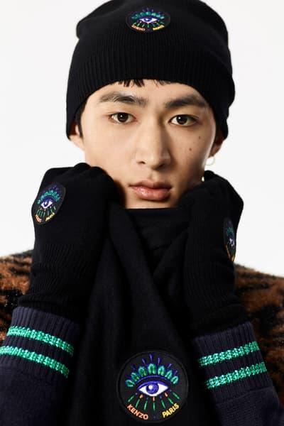 KENZO 2017 Holiday Collection Lookbook November Release Date Info Tiger Sweater Gloves Backpack bag hat shirt puffer down jacket slacks