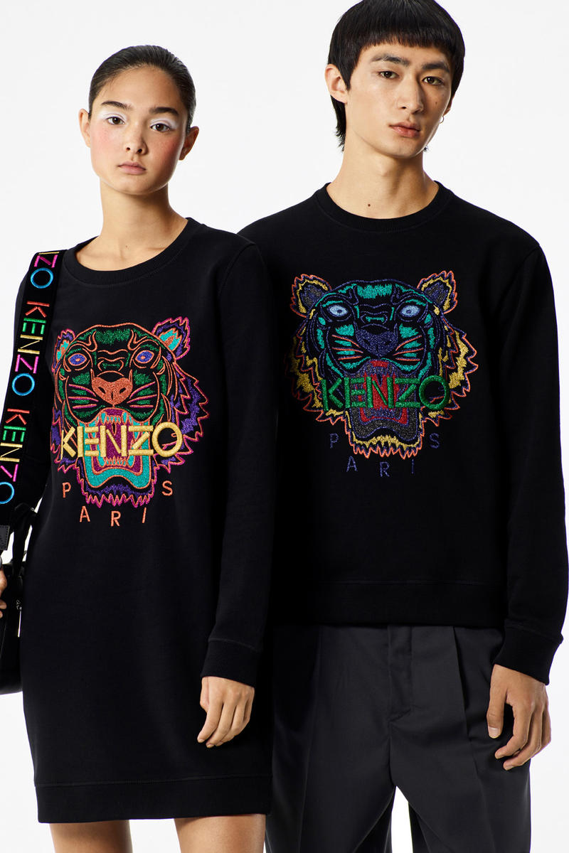 677283c4 KENZO 2017 Holiday Collection Lookbook November Release Date Info Tiger  Sweater Gloves Backpack bag hat shirt